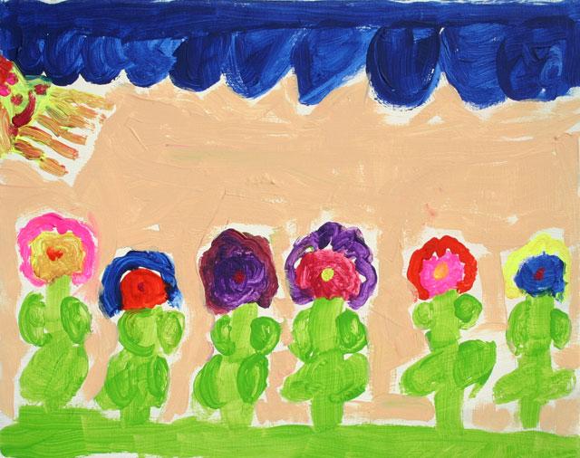 Steffi-Blumenbeet